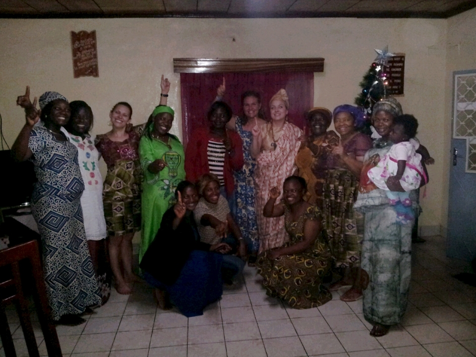 """Daughters of the Son - We Are One!"", our church women's group!"